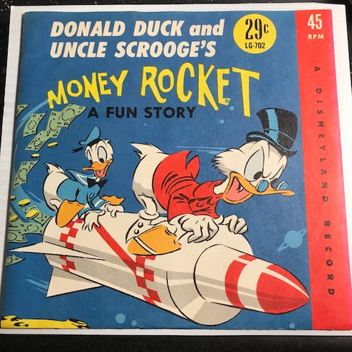 Donald Duck and Uncle Scrooge's Money Rocket pt.1 b/w pt.2 - Disneyland #702 - Children's