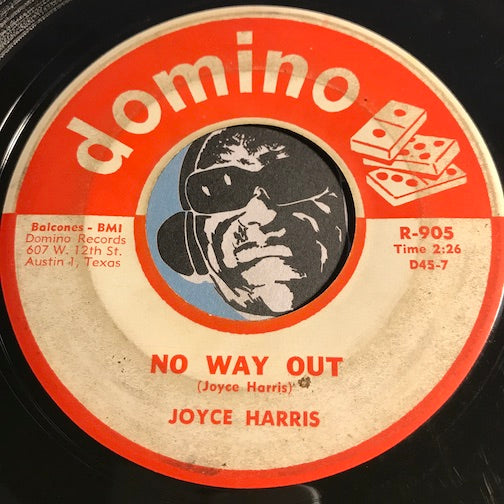 Joyce Harris - No Way Out b/w Dreamer - Domino #905 - Rockabilly