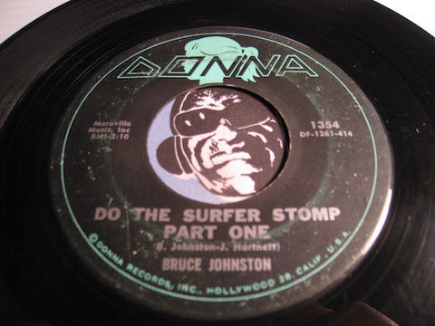 Bruce Johnston - Do The Surfer Stomp pt.1 b/w pt.2 - Donna #1354 - Surf