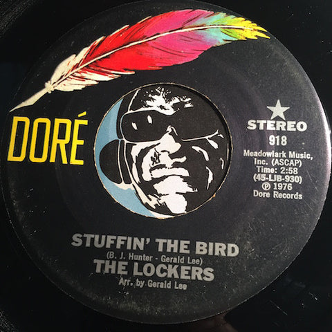 Lockers - Stuffin The Bird b/w same (instrumental) - Dore #918 - Funk - Funk Disco