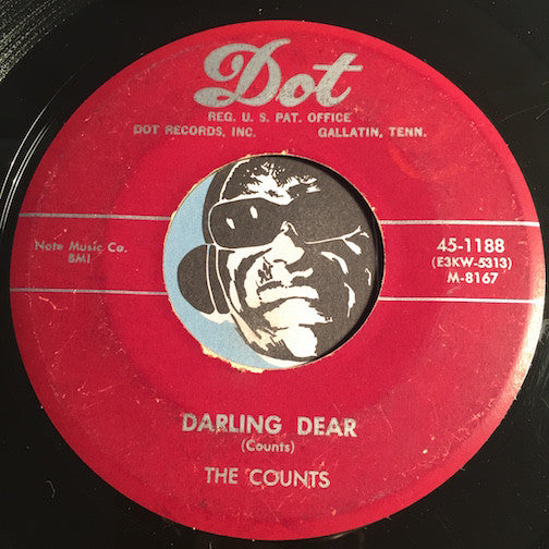 Counts - Darling Dear b/w I Need You Always - Dot #1188 - Doowop