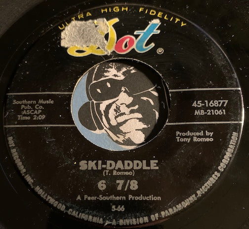 6 7/8 - Ski Daddle b/w Everybody's Got A Home But Me - Dot #16877 - Rock n Roll - Garage Rock