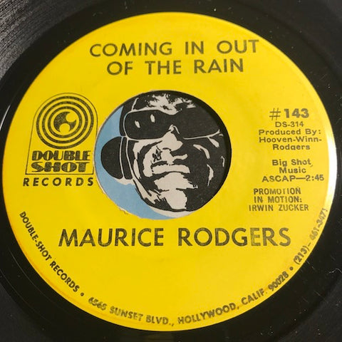Maurice Rodgers - Coming In Out Of The Rain b/w Coo Coo Ca Choo (The Love Bird Song) - Double Shot #143 - Funk