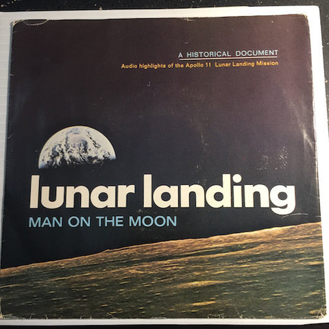 Lunar Landing Man On The Moon - Apollo 11 Mission b/w pt.2 - Doubleday & Company #10483 - Novelty
