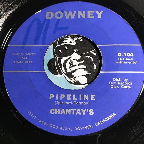 Chantay's - Pipeline b/w Move It - Downey #104 - Surf