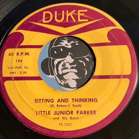 Little Junior Parker - Sitting And Thinking b/w Wondering - Duke #184 - R&B - Blues