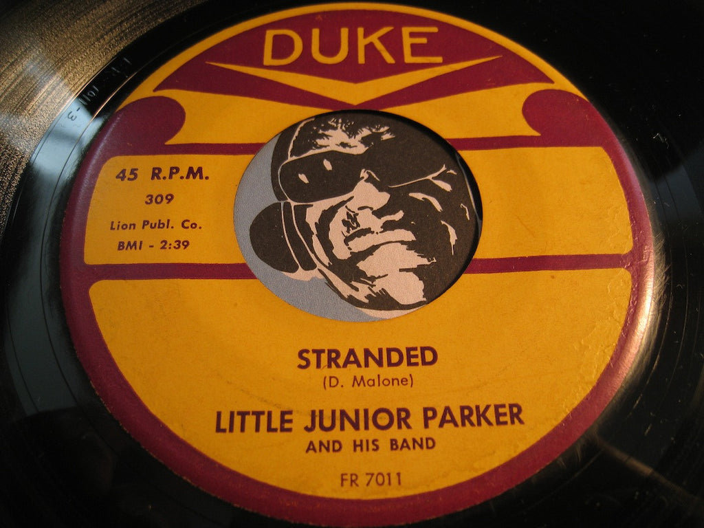 Little Junior Parker - Stranded b/w Blue Letter - Duke #309 - R&B