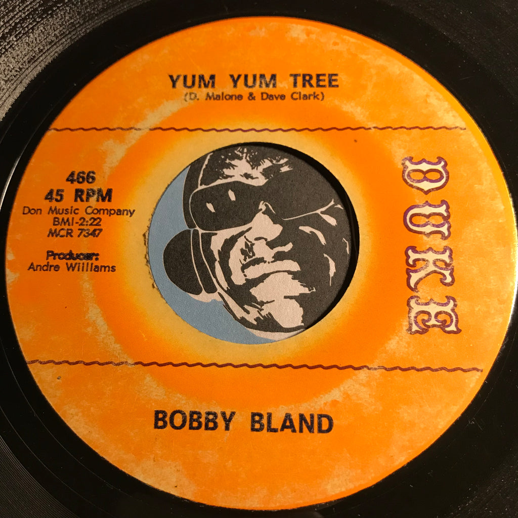 Bobby Bland - Yum Yum Tree b/w I'm Sorry - Duke #466 - Northern Soul