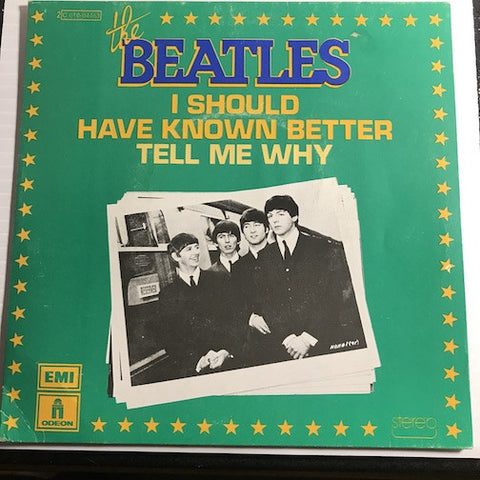 Beatles - French pressing - I Should Have Known Better b/w Tell Me Why - EMI #2C 010-04.463 - Rock n Roll