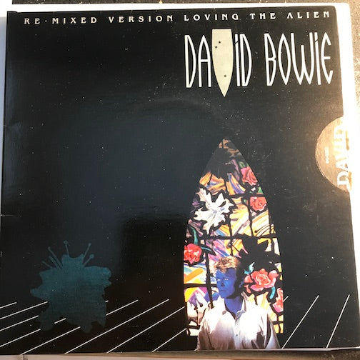 David Bowie - Loving The Alien b/w Don't Look Down - EMI #8271 - Rock n Roll