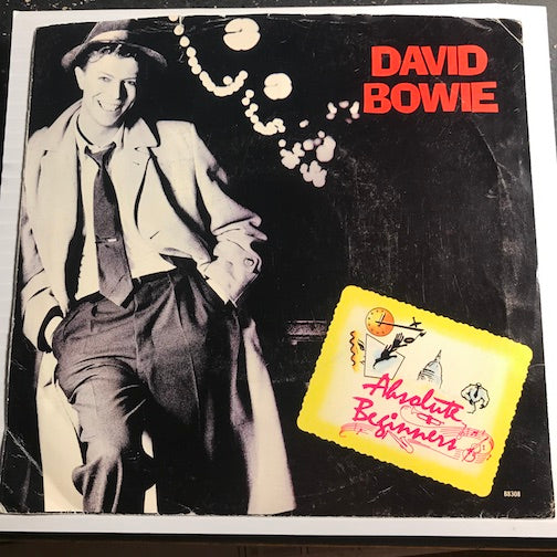 David Bowie - Absolute Beginners (Edited Version) b/w Absolute Beginners (Dub Mix) - EMI America #8308 - Rock n Roll
