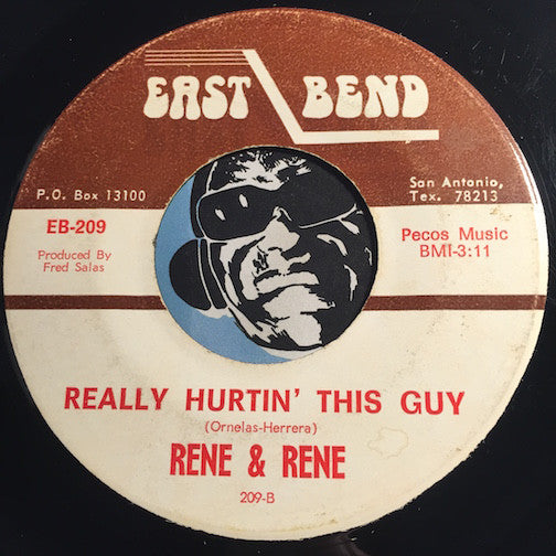 Rene & Rene - El Mexicano b/w Really Hurtin This Guy - East Bend #209 - Chicano Soul