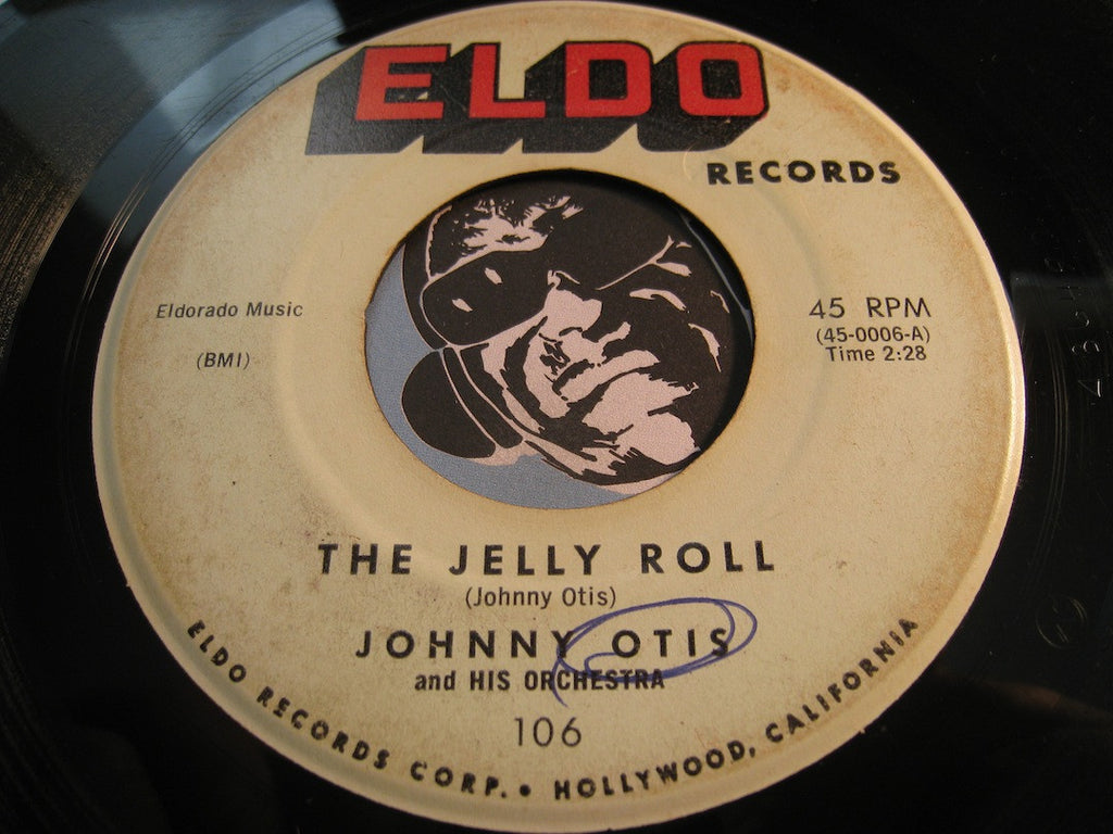 Johnny Otis - The New Bo Diddley b/w The Jelly Roll - Eldo #106 - R&B
