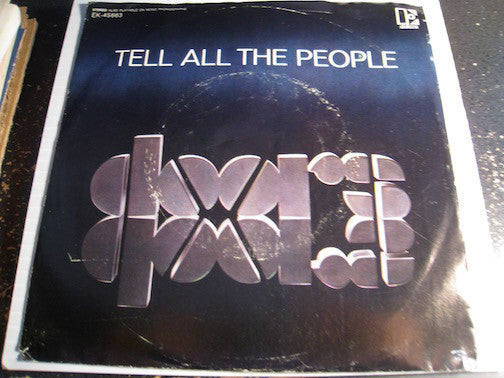 Doors - Tell All The People b/w Easy Ride - Elektra #45663 - Psych Rock