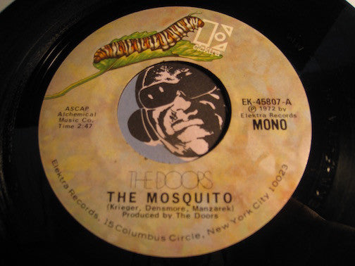 Doors - The Mosquito b/w It Slipped My Mind - Elektra #45807 - Psych Rock