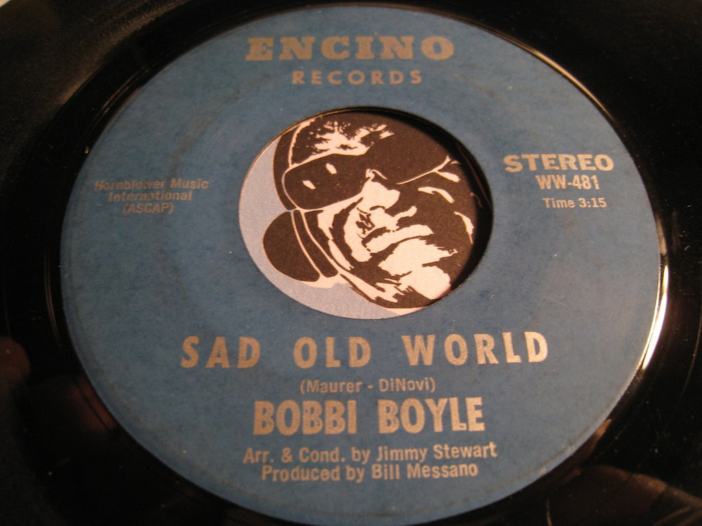 Bobbi Boyle - Sad Old World b/w Everybody's Talkin - Encino #481 - Jazz