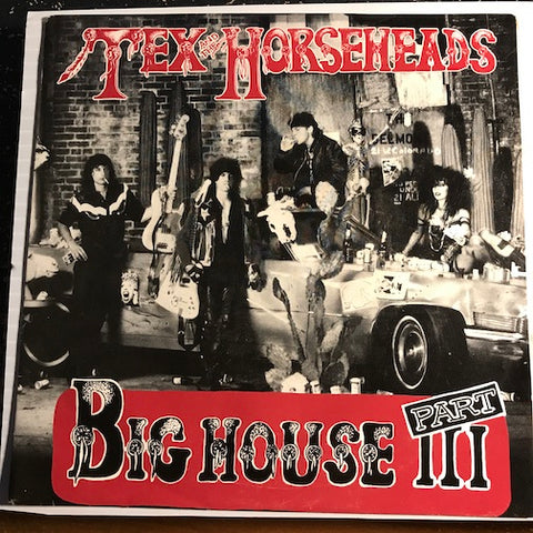 Tex & Horseheads - Big House Part III b/w Cloudia - Enigma #2138-7 - Punk