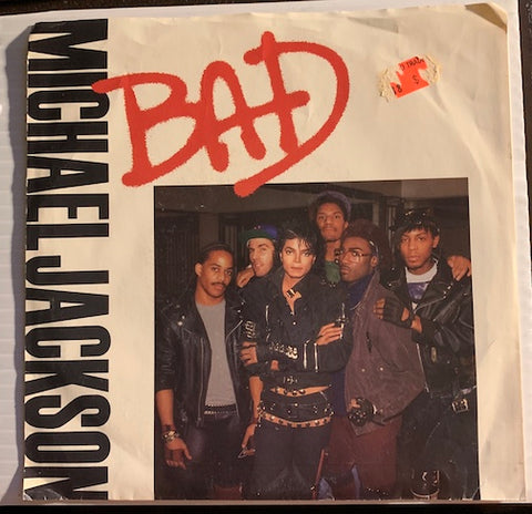 Michael Jackson - Bad b/w I Can't Help It - Epic #07418 - 80's / 90's / 2000's
