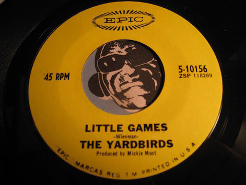 Yardbirds - Little Games b/w Puzzles - Epic #10156 - Psych Rock