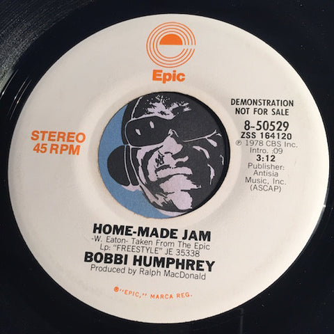 Bobbi Humphrey - Home Made Jam b/w same - Epic #50529 - Jazz Funk