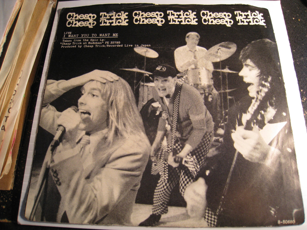Cheap Trick - I Want You To Want Me b/w Clock Strikes Ten - Epic #50680 - Rock n Roll