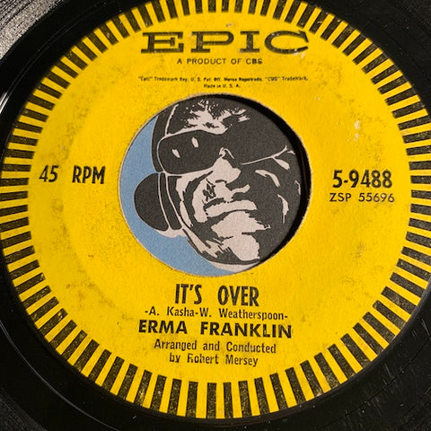 Erma Franklin - It's Over b/w Hello Again - Epic #9488 - R&B Soul