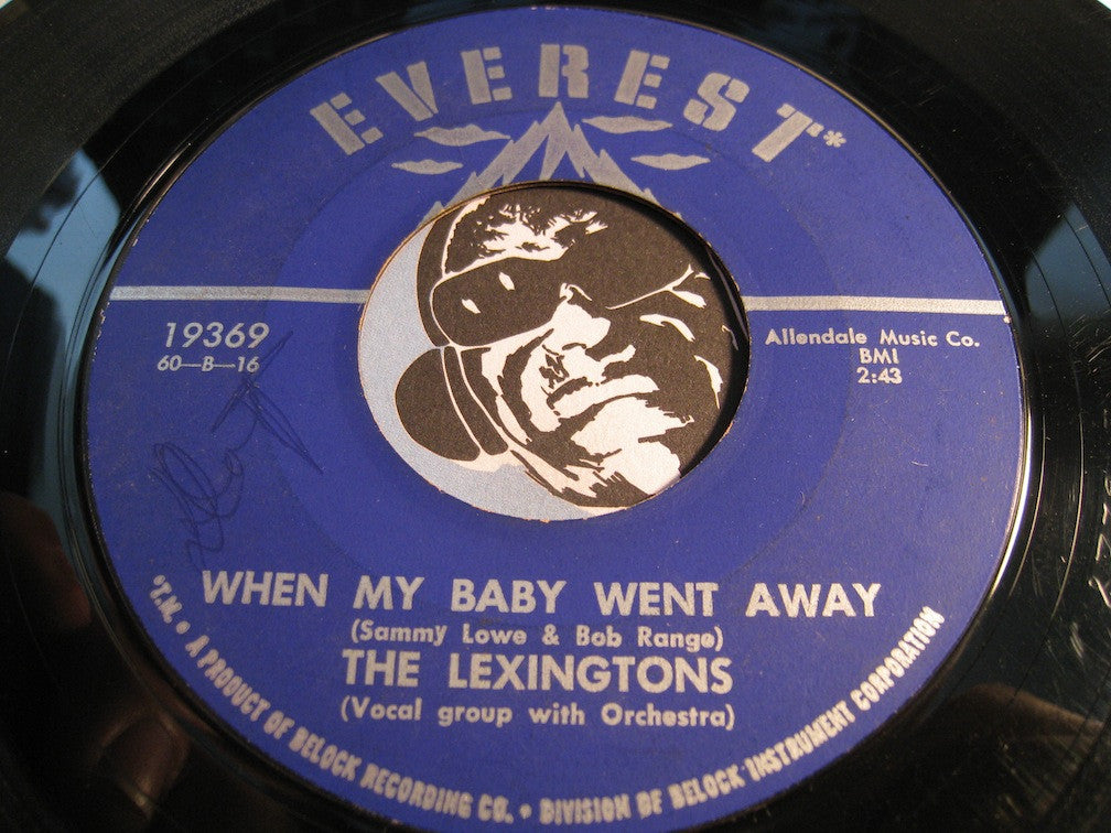 Lexingtons - I Found My Baby b/w When My Baby When Away - Everest #19369 - Doowop