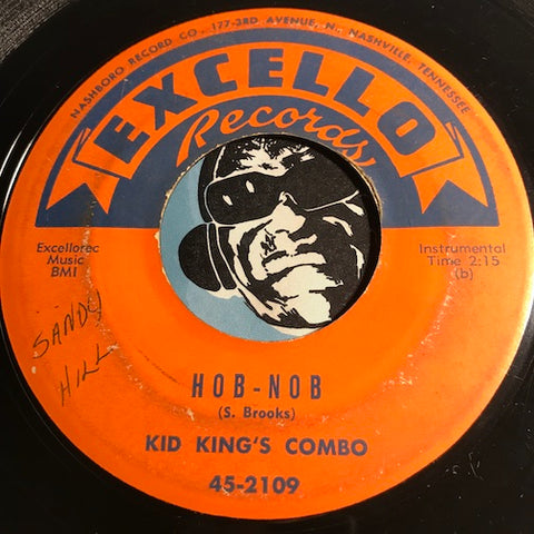 Kid King's Combo - Hob Nob b/w Are You Sure - Excello #2109 - R&B Instrumental - R&B Blues