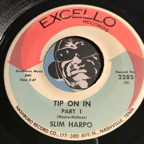 Slim Harpo - Tip On In pt.1 b/w pt.2 - Excello #2285 - R&B Soul - R&B Blues