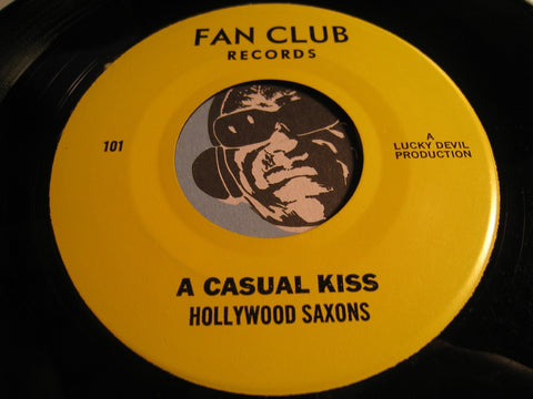 Hollywood Saxons - A Casual Kiss b/w Again - Sunday Kind Of Love - Fan Club #101 - Doowop
