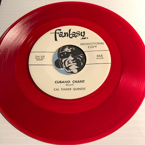 Cal Tjader Quintet - Cubano Chant b/w Battle Hymn Of The Republic - Fantasy #565 - Colored Vinyl - Latin Jazz