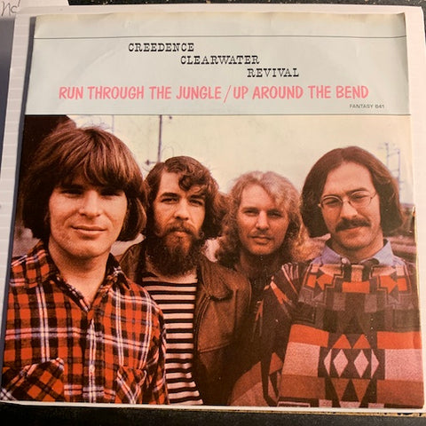 Creedence Clearwater Revival - Run Through The Jungle b/w Up Around The Bend - Fantasy #641 - Rock n Roll