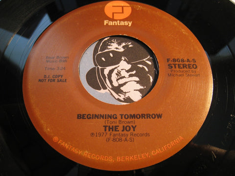The Joy - Beginning Tomorrow (stereo) b/w same (mono) - Fantasy #808 - Modern Soul