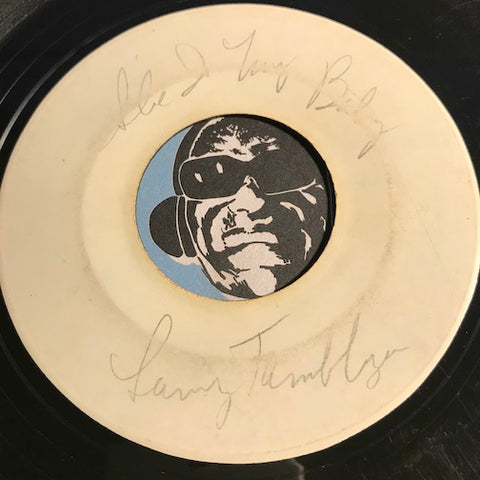 Larry Tamblyn - (She's My Baby) My Bride To Be b/w The Lie - Test press / Faro #603 - Doowop - R&B