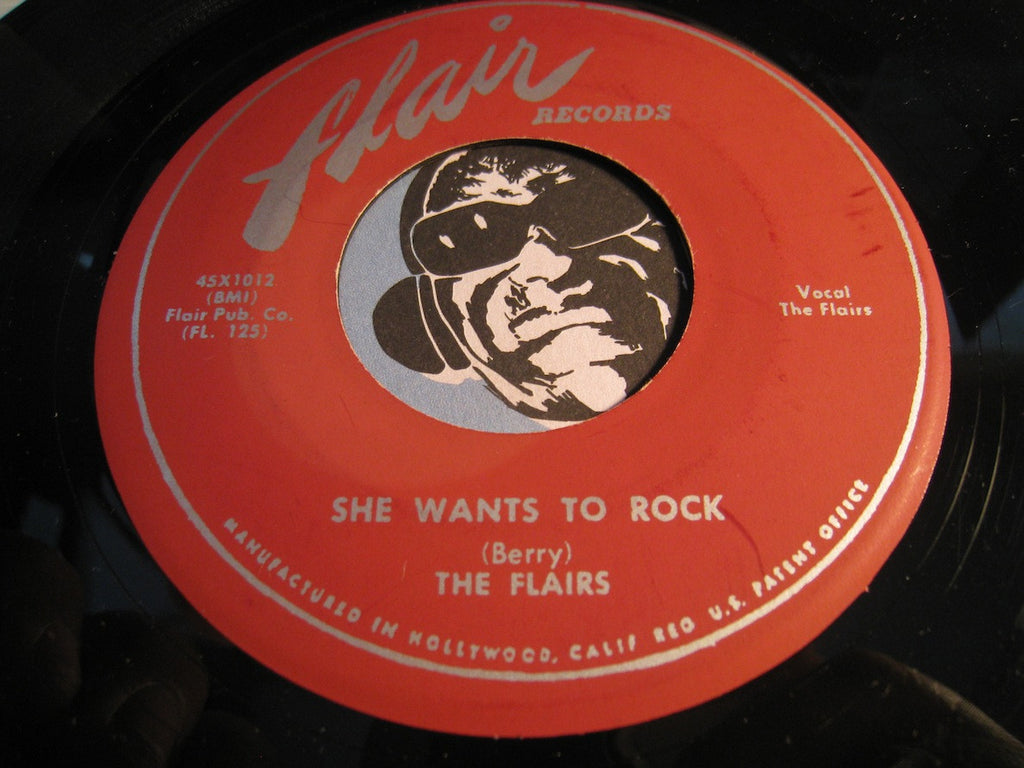 Flairs - I Had A Love b/w She Wants To Rock - Flair #1012 - Doowop