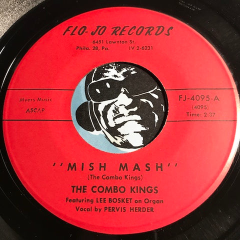 Combo Kings - Mish Mash b/w All I Could Do Was Cry - Flo-Jo #4095 - R&B Soul - R&B Mod