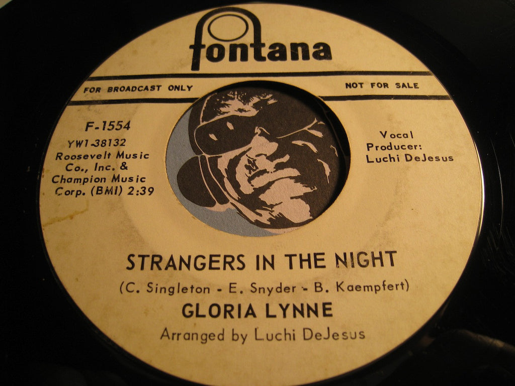 Gloria Lynne - Hey Candy Man b/w Strangers In The Night - Fontana #1554 - Popcorn Soul