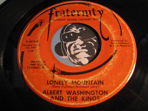 Albert Washington & Kings - Lonely Mountain b/w Turn On The Bright Lights - Fraternity #1016 - R&B Soul