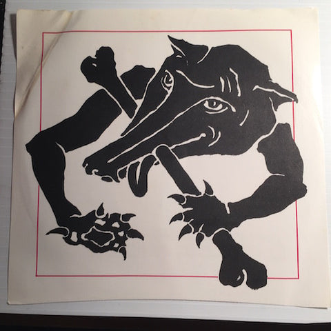 The Twist - Wolves b/w Scared - Funhouse #002 - Punk - 80's / 90's / 2000's