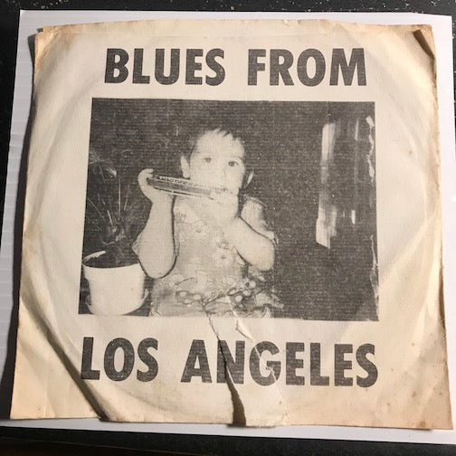 William Clarke - Blues From Los Angeles EP - Woke Up This Morning - All About My Girl - Break Theme b/w Off The Wall - The Thang - G Town Prod #001 - Blues