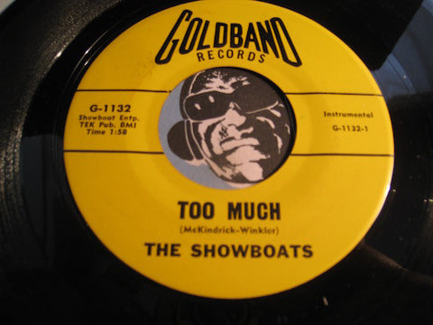 Showboats - Sidewinder b/w Too Much - Goldband #1132 - Rock n Roll - R&B Instrumental