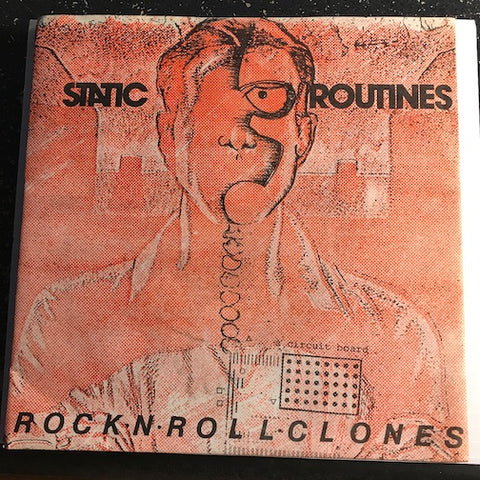 Static Routines - Rock n Roll Clones b/w Sheet Music - Good Vibrations GVI #3 - Punk