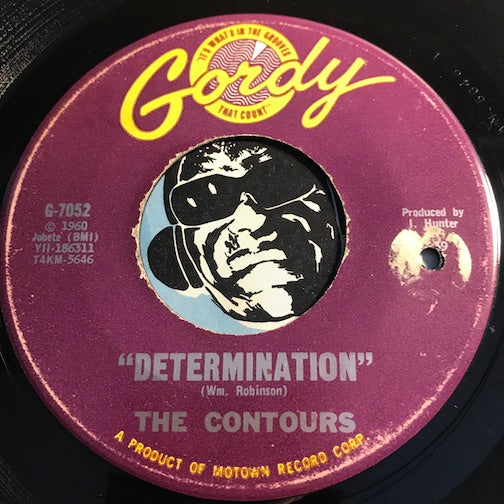 Contours - Determination b/w Just A Little Misunderstanding - Gordy #7052 - Motown - Northern Soul