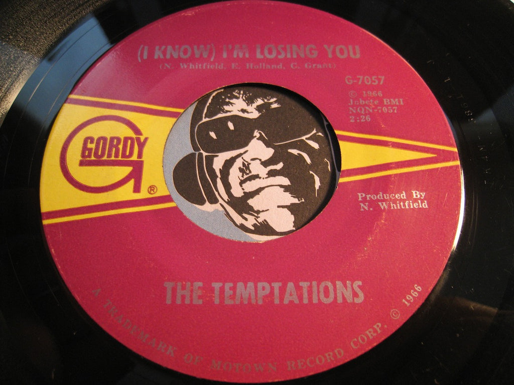 Temptations - (I Know) I'm Losing You b/w I Couldn't Cry If I Wanted To - Gordy #7057 - Northern Soul