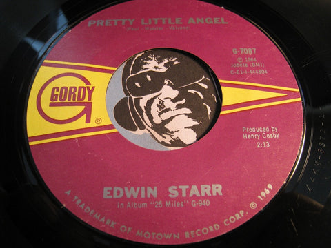 Edwin Starr - Pretty Little Angel b/w I'm Still A Struggling Man - Gordy #7087 - Motown