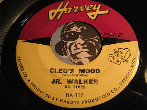 Jr Walker & All Stars - Cleo's Mood b/w Brain Washer - Harvey #117 - Motown