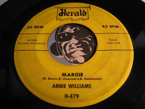 Arnie Williams - Margie b/w Come On Sweetie - Herald #479 - R&B