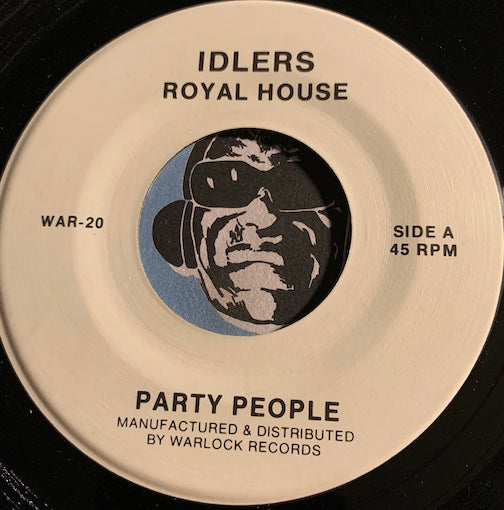 Royal House - Party People b/w Key The Pulse - Idlers #20 - 80's / 90's / 2000's - Funk Disco