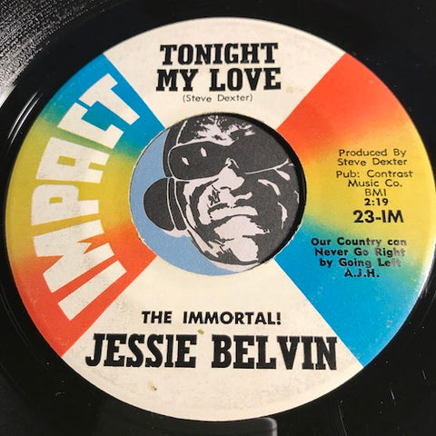 Jessie Belvin - Tonight My Love b/w Looking For Love - Impact #23 - Doowop