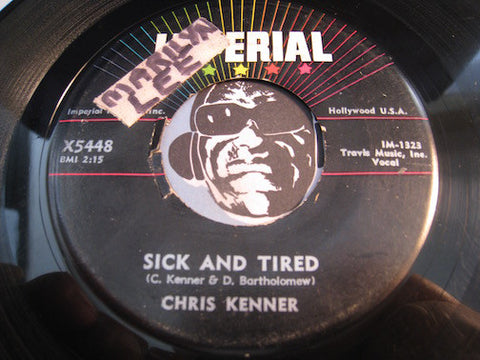 Chris Kenner - Sick And Tired b/w Nothing Will Keep Me From You - Imperial #5448 - R&B Rocker